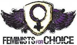 Feminist for Choice logo Merle Hoffman Interview